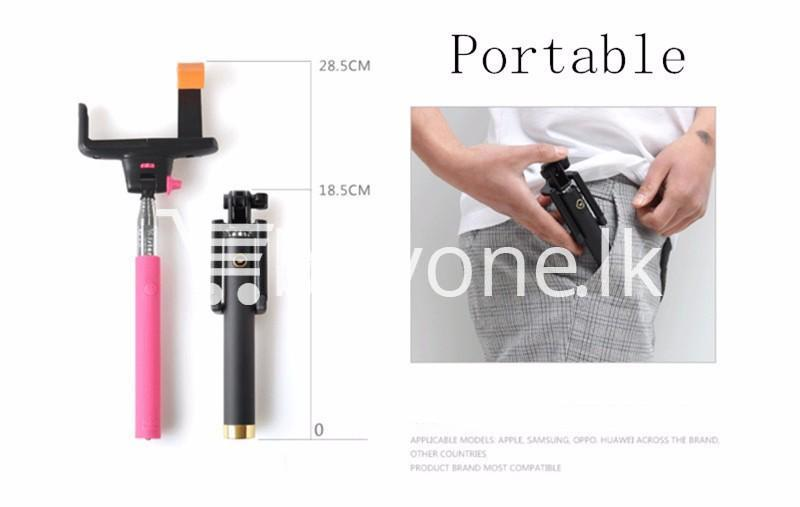 extendable handheld selfie stick monopod tripod mobile phone accessories special best offer buy one lk sri lanka 91296 - Extendable Handheld Selfie Stick Monopod Tripod
