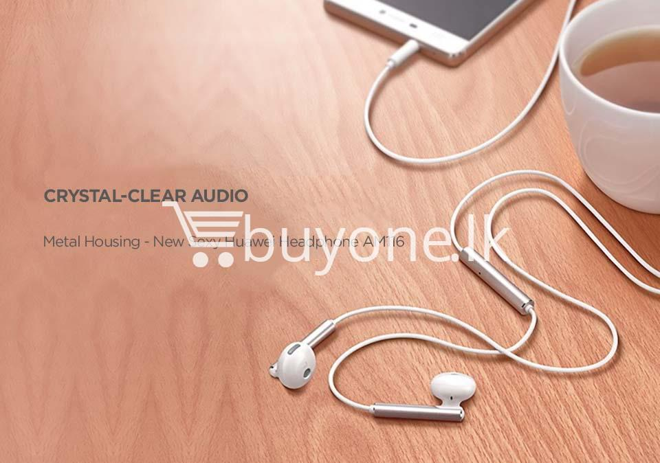 huawei earphone am116 in ear headset with microphone mobile phone accessories special best offer buy one lk sri lanka 90166 - Huawei Earphone  AM116 In-Ear Headset with Microphone