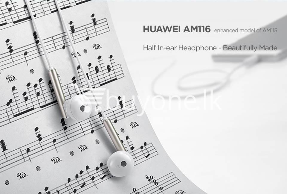 huawei earphone am116 in ear headset with microphone mobile phone accessories special best offer buy one lk sri lanka 90167 - Huawei Earphone  AM116 In-Ear Headset with Microphone