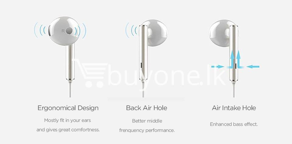 huawei earphone am116 in ear headset with microphone mobile phone accessories special best offer buy one lk sri lanka 90168 - Huawei Earphone  AM116 In-Ear Headset with Microphone