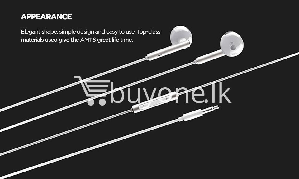 huawei earphone am116 in ear headset with microphone mobile phone accessories special best offer buy one lk sri lanka 90172 1 - Huawei Earphone  AM116 In-Ear Headset with Microphone