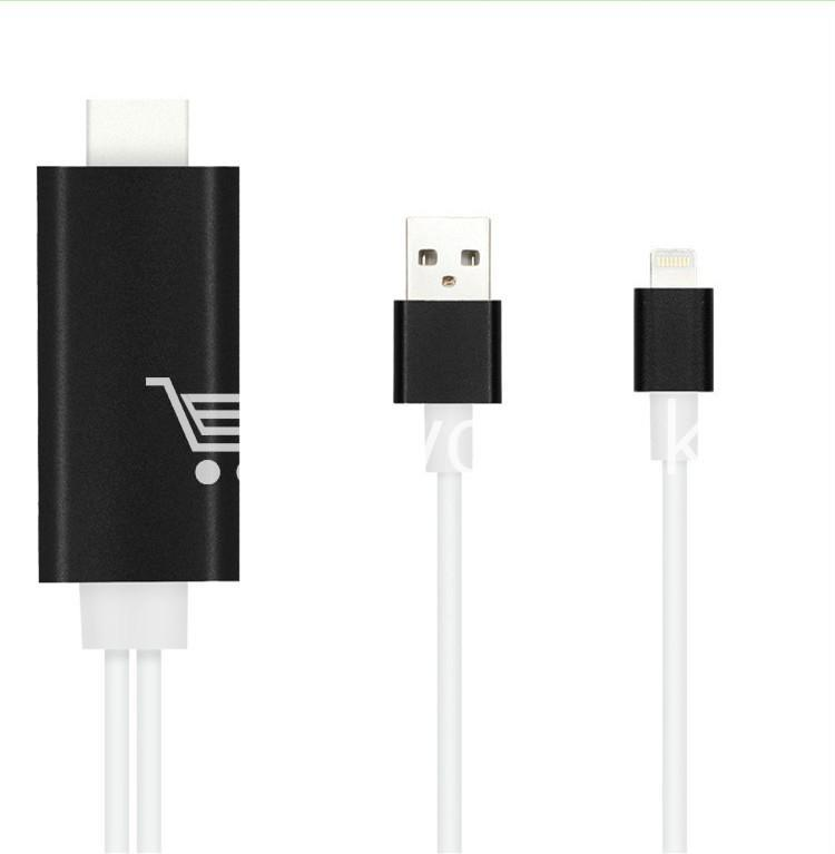 iphone hdmi 1080p hdtv cable for iphone 55s66plus6s6splusipad mobile phone accessories special best offer buy one lk sri lanka 25739 - iPhone HDMI 1080p HDTV Cable For iPhone 5/5S/6/6plus/6S/6SPlus/ipad