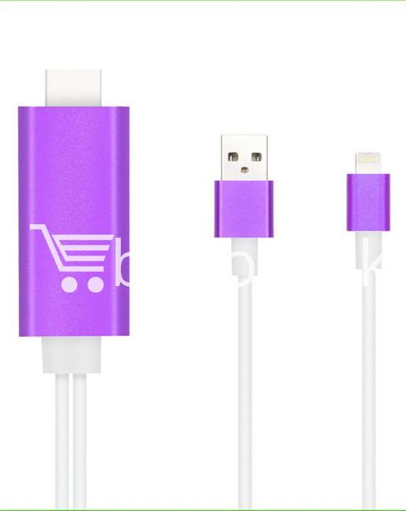 iphone hdmi 1080p hdtv cable for iphone 55s66plus6s6splusipad mobile phone accessories special best offer buy one lk sri lanka 25740 - iPhone HDMI 1080p HDTV Cable For iPhone 5/5S/6/6plus/6S/6SPlus/ipad