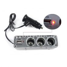 new triple socket 3 ways with usb car charger cigarette lighter power adapter splitter automobile store special best offer buy one lk sri lanka 22633  Online Shopping Store in Sri lanka, Latest Mobile Accessories, Latest Electronic Items, Latest Home Kitchen Items in Sri lanka, Stereo Headset with Remote Controller, iPod Usb Charger, Micro USB to USB Cable, Original Phone Charger   Buyone.lk Homepage