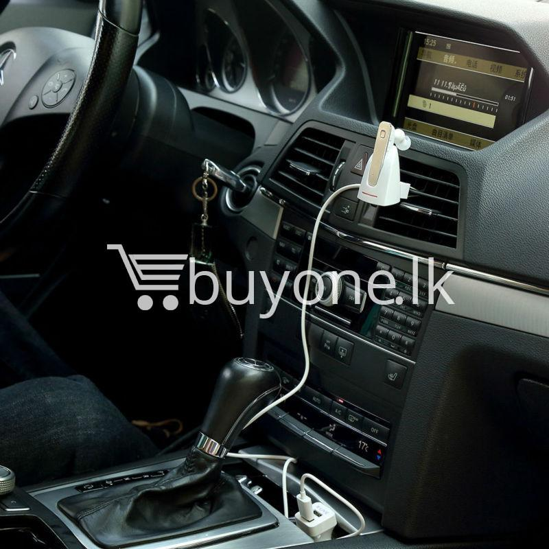 original new roman wireless car bluetooth headset mobile phone accessories special best offer buy one lk sri lanka 72612 - Original New Roman Wireless Car Bluetooth Headset