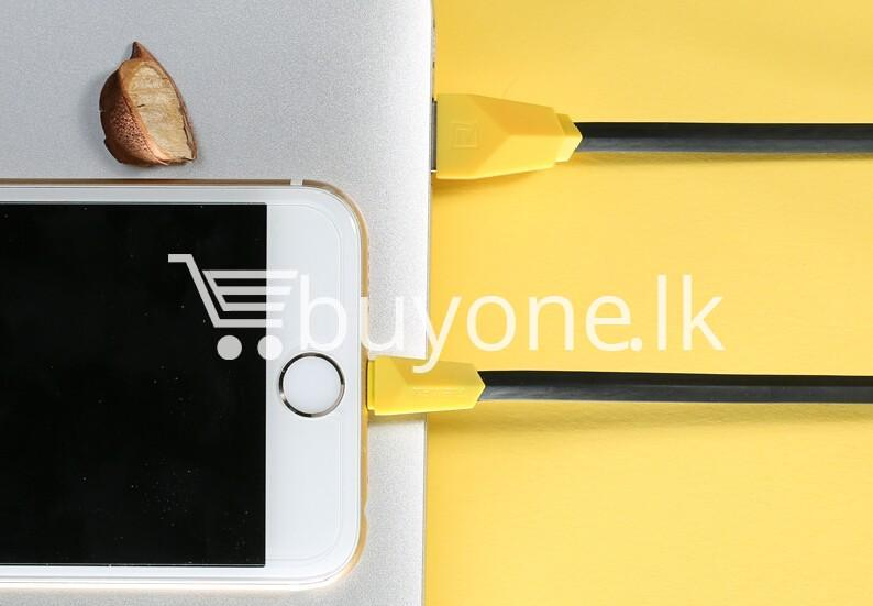 original remax alien series mobile phone cable fast charging data sync cable mobile phone accessories special best offer buy one lk sri lanka 24983 - Original Remax Alien Series Mobile Phone Cable Fast Charging Data Sync Cable