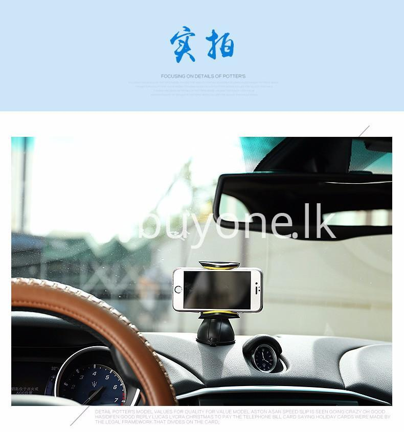 original remax newest hot 360 degrees car mobile mount car kit mobile phone accessories special best offer buy one lk sri lanka 76556 - Original Remax Newest Hot 360 Degrees Car Mobile Mount Car Kit