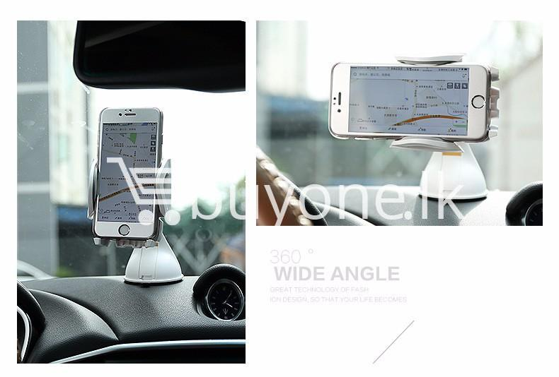 original remax newest hot 360 degrees car mobile mount car kit mobile phone accessories special best offer buy one lk sri lanka 76557 - Original Remax Newest Hot 360 Degrees Car Mobile Mount Car Kit