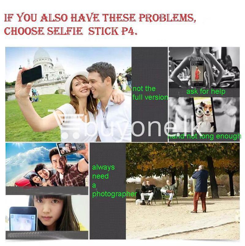 original remax p4 bluetooth selfie stick titanium metal body mobile phone accessories special best offer buy one lk sri lanka 24308 - Original Remax P4 Bluetooth Selfie Stick Titanium Metal Body
