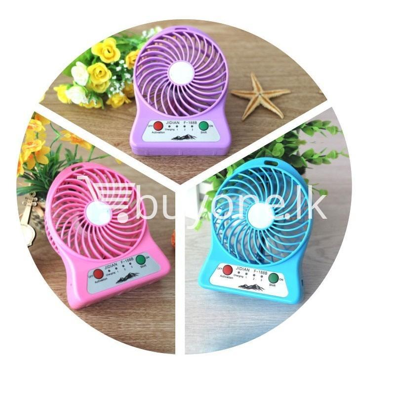 portable usb mini fan home and kitchen special best offer buy one lk sri lanka 93244 - Portable USB Mini Fan