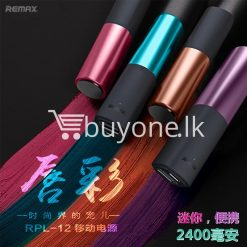 remax 2600mah fashion luxury lipstick power bank mobile phone accessories special best offer buy one lk sri lanka 23656 247x247 - REMAX 2600mAh Fashion Luxury Lipstick Power Bank