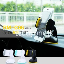 remax car mount holder with stand windshield 360 degree rotating mobile phone accessories special best offer buy one lk sri lanka 21676 247x247 - Remax Car Mount Holder with Stand Windshield 360 Degree Rotating