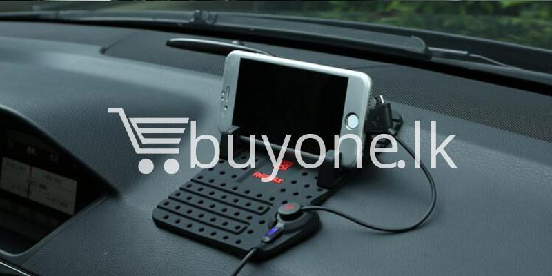 remax universal car holder with 2 in 1 charging output mobile phone accessories special best offer buy one lk sri lanka 18307 - Remax Universal Car Holder with 2 in 1 Charging Output