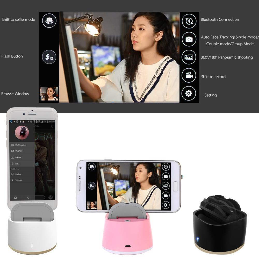 self timer rotatable robot bluetooth selfie for iphones smartphones mobile phone accessories special best offer buy one lk sri lanka 59009 - Self-Timer Rotatable Robot Bluetooth Selfie For iPhones & Smartphones