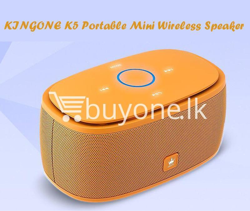 100 genuine kingone super bass portable wireless speaker touch friendly with iron box mobile phone accessories special best offer buy one lk sri lanka 85285 - 100% Genuine Kingone Super Bass Portable Wireless Speaker Touch Friendly with Iron Box