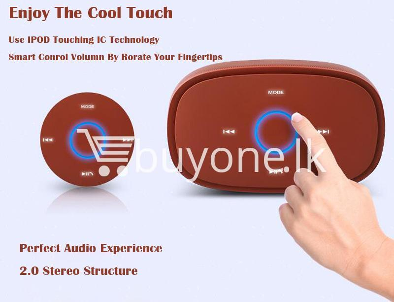 100 genuine kingone super bass portable wireless speaker touch friendly with iron box mobile phone accessories special best offer buy one lk sri lanka 85286 - 100% Genuine Kingone Super Bass Portable Wireless Speaker Touch Friendly with Iron Box