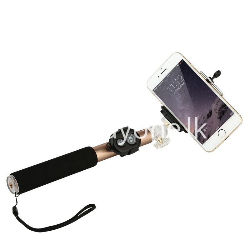 baseus stable series handheld extendable selfie stick with selfie remote bu. Black Bedroom Furniture Sets. Home Design Ideas