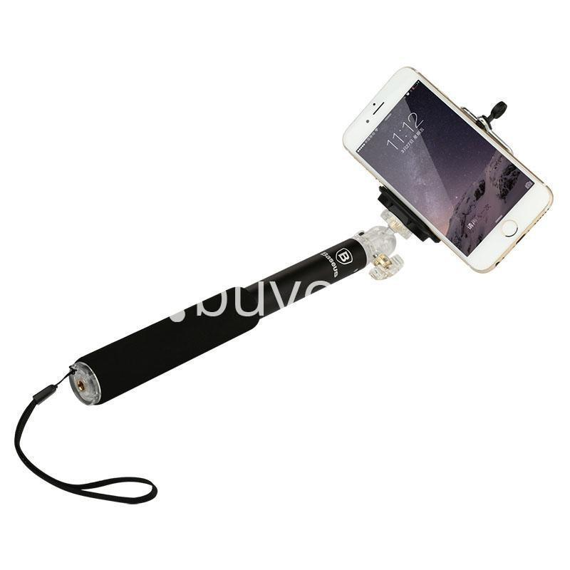 baseus stable series handheld extendable selfie stick with selfie remote mobile store special best offer buy one lk sri lanka 46200 - Baseus Stable Series Handheld Extendable Selfie Stick with Selfie Remote