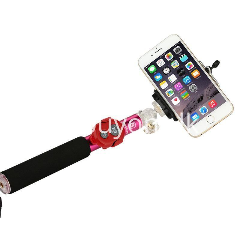 baseus stable series handheld extendable selfie stick with selfie remote mobile store special best offer buy one lk sri lanka 46208 - Baseus Stable Series Handheld Extendable Selfie Stick with Selfie Remote