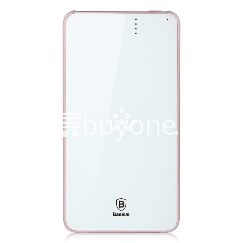 baseus wireless charging base with fast charger power bank 5000mah for iphone samsung htc mi mobile phones mobile phone accessories special best offer buy one lk sri lanka 74396 - BASEUS Wireless Charging Base with Fast Charger Power Bank 5000mAh For iPhone Samsung HTC MI Mobile Phones