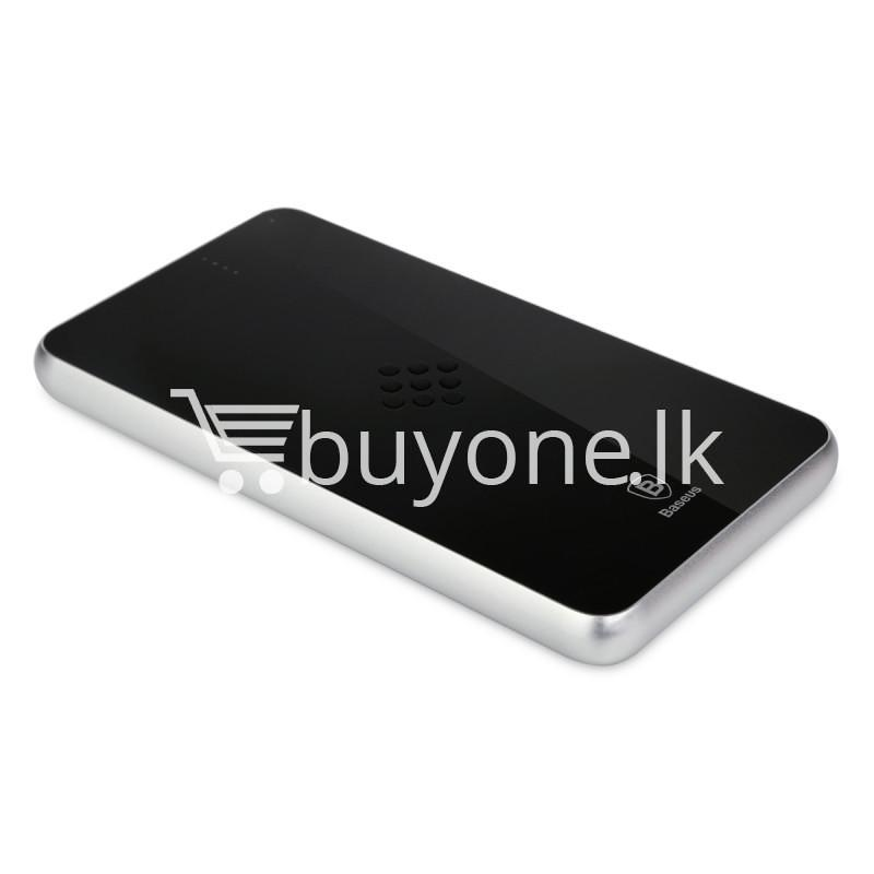 baseus wireless charging base with fast charger power bank 5000mah for iphone samsung htc mi mobile phones mobile phone accessories special best offer buy one lk sri lanka 74404 - BASEUS Wireless Charging Base with Fast Charger Power Bank 5000mAh For iPhone Samsung HTC MI Mobile Phones