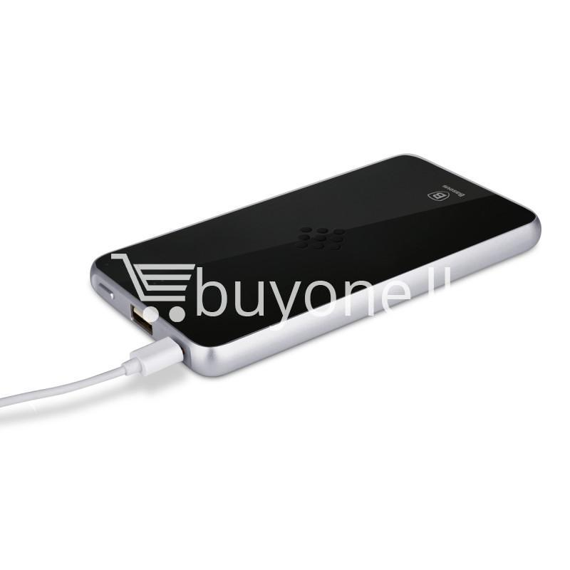 baseus wireless charging base with fast charger power bank 5000mah for iphone samsung htc mi mobile phones mobile phone accessories special best offer buy one lk sri lanka 74405 - BASEUS Wireless Charging Base with Fast Charger Power Bank 5000mAh For iPhone Samsung HTC MI Mobile Phones