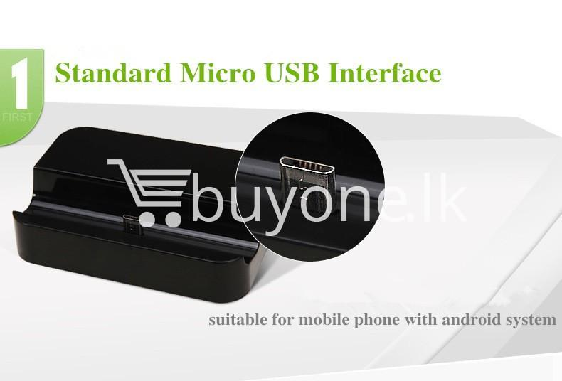 mobile phone dock station charger with stand for samsung htc xiaomi nokia android mobile phone accessories special best offer buy one lk sri lanka 83926 - Mobile Phone Dock Station Charger with Stand for Samsung HTC Xiaomi Nokia Android