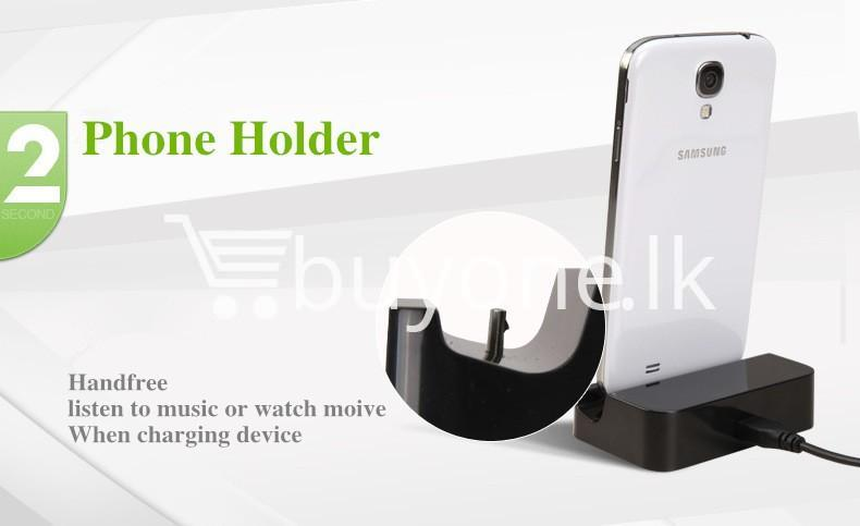 mobile phone dock station charger with stand for samsung htc xiaomi nokia android mobile phone accessories special best offer buy one lk sri lanka 83927 - Mobile Phone Dock Station Charger with Stand for Samsung HTC Xiaomi Nokia Android