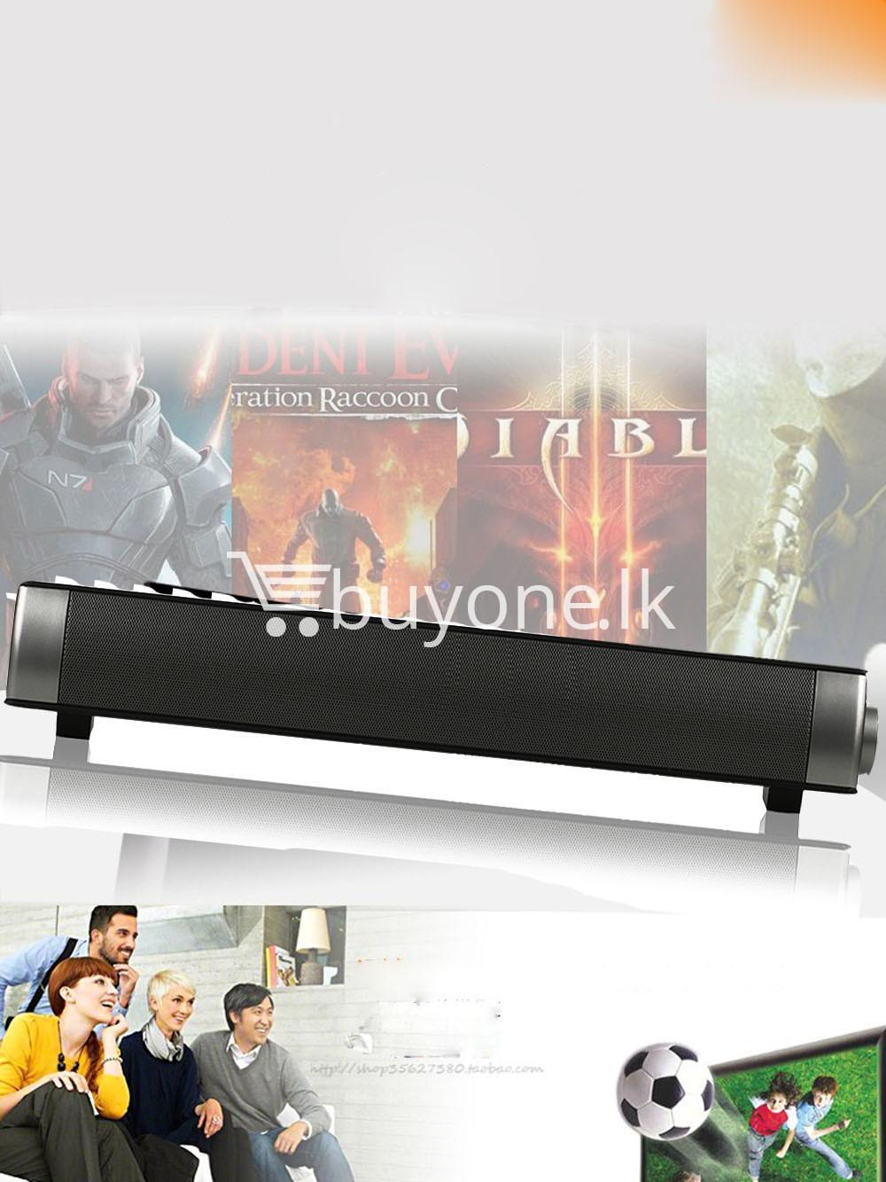music apollo wireless slim soundbar hifi box bluetooth subwoofer boombox speaker for tv pc electronics special best offer buy one lk sri lanka 88584 - Music Apollo Wireless Slim Soundbar HIFI Box Bluetooth Subwoofer Boombox Speaker FOR TV PC