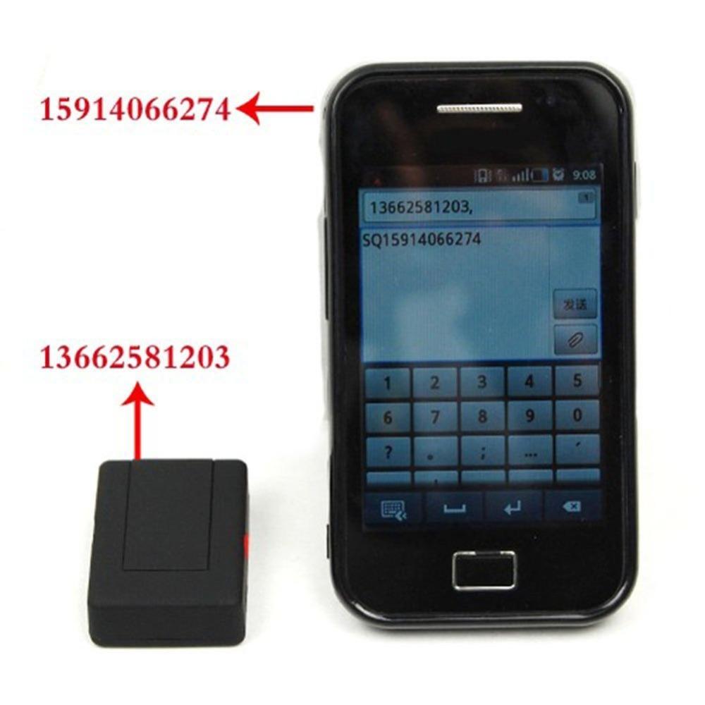 Mini Realtime GSM/GPRS/GPS Tracker Device