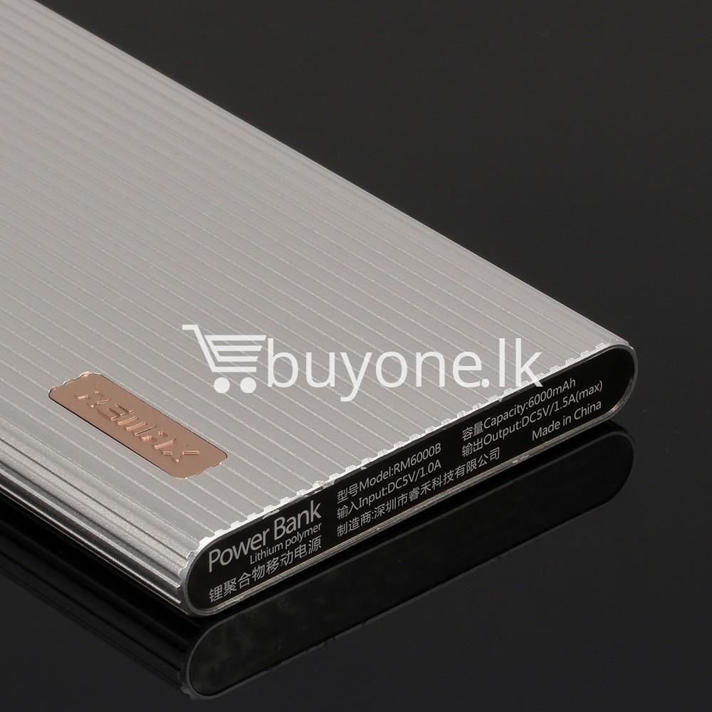 new original remax 6000mah jazz platinum power bank wake up for ever mobile phone accessories special best offer buy one lk sri lanka 80926 - New Original Remax 6000mAh Jazz Platinum Power Bank Wake up for ever