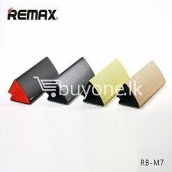 new original remax bluetooth aluminum alloy metal speaker computer accessories special best offer buy one lk sri lanka 56957 247x247 - New Original Remax Bluetooth Aluminum Alloy Metal Speaker