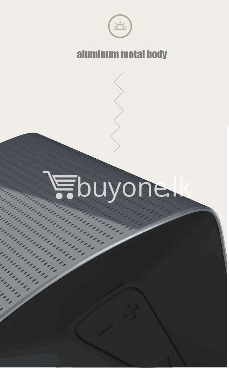 new original remax bluetooth aluminum alloy metal speaker computer accessories special best offer buy one lk sri lanka 56966 - New Original Remax Bluetooth Aluminum Alloy Metal Speaker