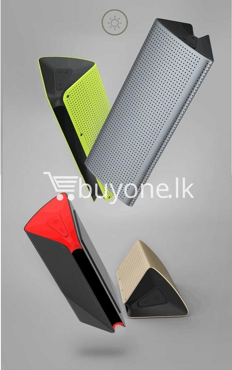 new original remax bluetooth aluminum alloy metal speaker computer accessories special best offer buy one lk sri lanka 56969 - New Original Remax Bluetooth Aluminum Alloy Metal Speaker