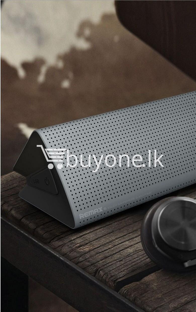 new original remax bluetooth aluminum alloy metal speaker computer accessories special best offer buy one lk sri lanka 56971 New Original Remax Bluetooth Aluminum Alloy Metal Speaker
