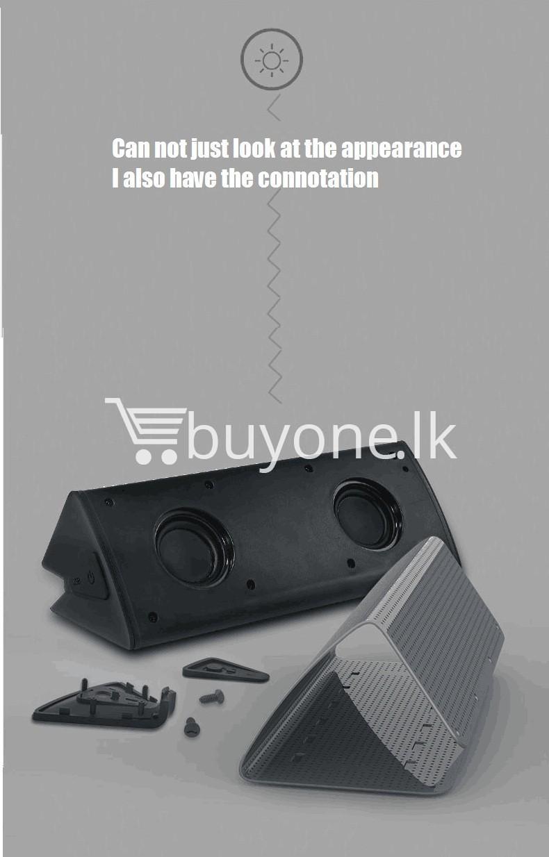 new original remax bluetooth aluminum alloy metal speaker computer accessories special best offer buy one lk sri lanka 56972 New Original Remax Bluetooth Aluminum Alloy Metal Speaker