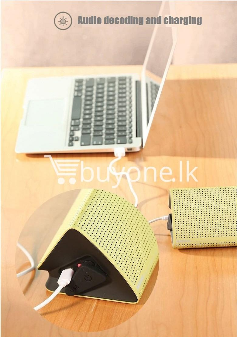 new original remax bluetooth aluminum alloy metal speaker computer accessories special best offer buy one lk sri lanka 56973 - New Original Remax Bluetooth Aluminum Alloy Metal Speaker