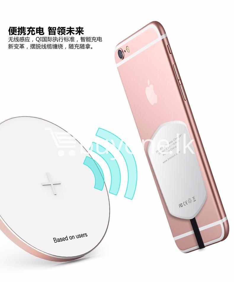 original baseus qi wireless charger charging receiver for iphone android mobile phone accessories special best offer buy one lk sri lanka 72723 1 - Original Baseus QI Wireless Charger Charging Receiver For iPhone Android