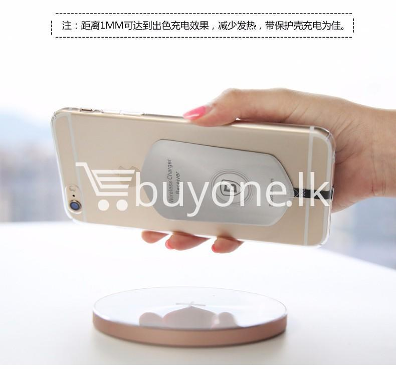 original baseus qi wireless charger charging receiver for iphone android mobile phone accessories special best offer buy one lk sri lanka 72734 - Original Baseus QI Wireless Charger Charging Receiver For iPhone Android
