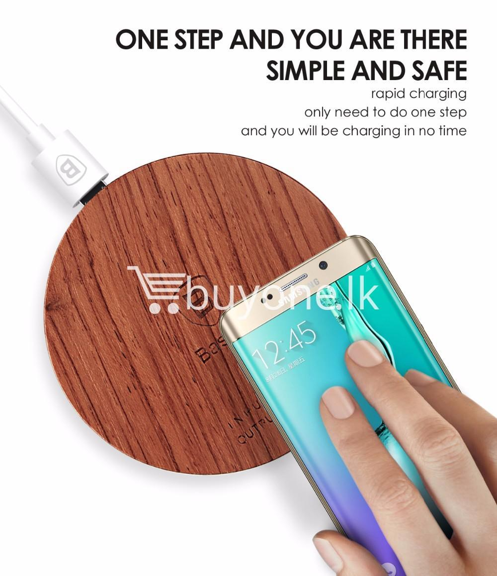 original baseus qi wireless charger for samsung iphone htc mi mobile phone accessories special best offer buy one lk sri lanka 73739 - Original Baseus Qi Wireless Charger for Samsung iPhone HTC Mi