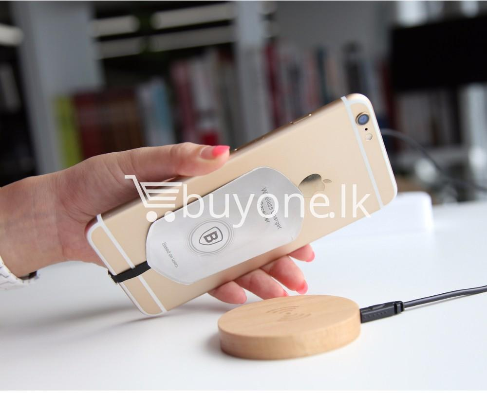 original baseus qi wireless charger for samsung iphone htc mi mobile phone accessories special best offer buy one lk sri lanka 73742 Original Baseus Qi Wireless Charger for Samsung iPhone HTC Mi