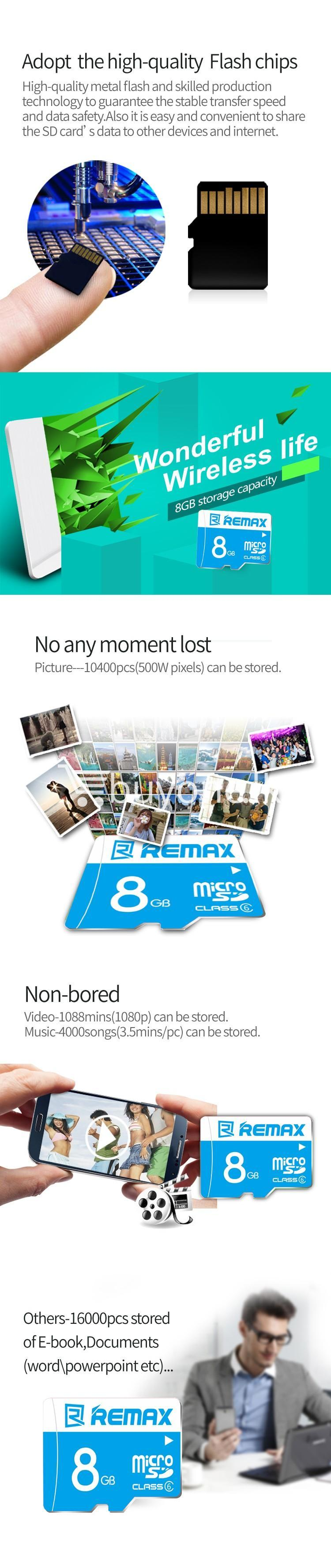 original remax 8gb memory card micro sd card class 10 mobile phone accessories special best offer buy one lk sri lanka 60247 - Original Remax 8GB Memory Card Micro SD Card Class 10