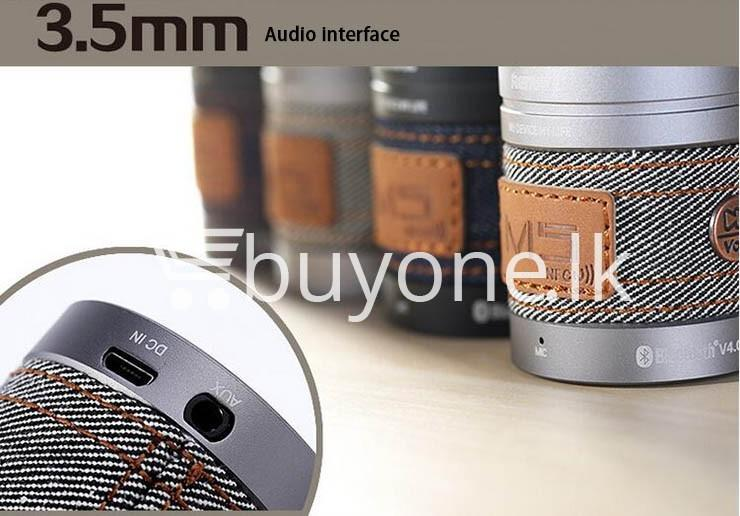 original remax m5 portable mini wireless bluetooth speaker mobile phone accessories special best offer buy one lk sri lanka 01182 1 - Original REMAX M5 Portable Mini Wireless Bluetooth Speaker
