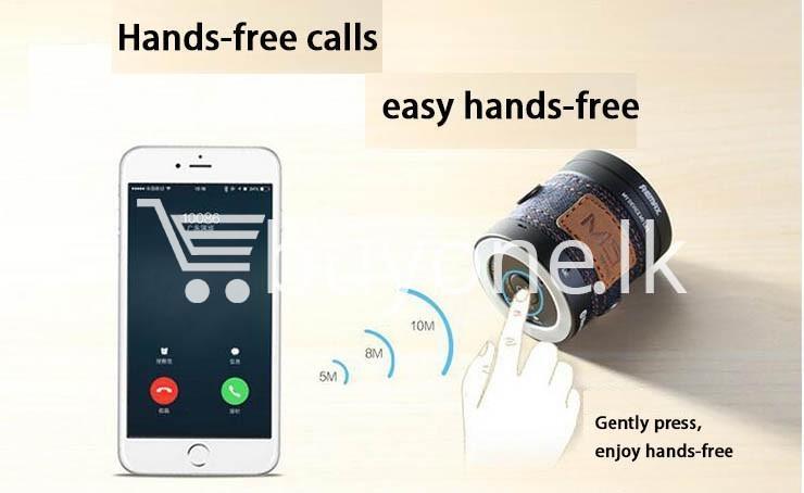 original remax m5 portable mini wireless bluetooth speaker mobile phone accessories special best offer buy one lk sri lanka 01189 Original REMAX M5 Portable Mini Wireless Bluetooth Speaker