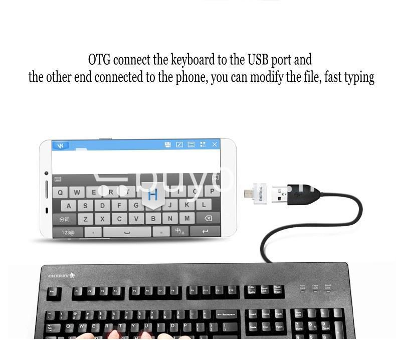 original remax otg plug usb to micro usb mini for android mobile phone mobile phone accessories special best offer buy one lk sri lanka 59230 - Original Remax OTG Plug USB to Micro USB Mini For Android Mobile Phone