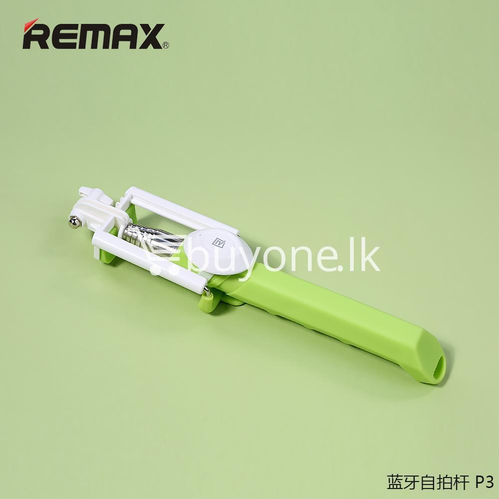 original remax p3 bluetooth selfie stick mobile phone accessories special best offer buy one lk sri lanka 56405 - Original REMAX P3 Bluetooth Selfie Stick