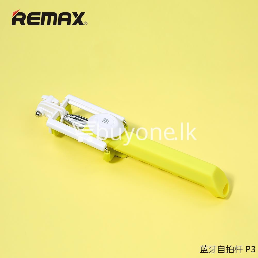 original remax p3 bluetooth selfie stick mobile phone accessories special best offer buy one lk sri lanka 56409 Original REMAX P3 Bluetooth Selfie Stick