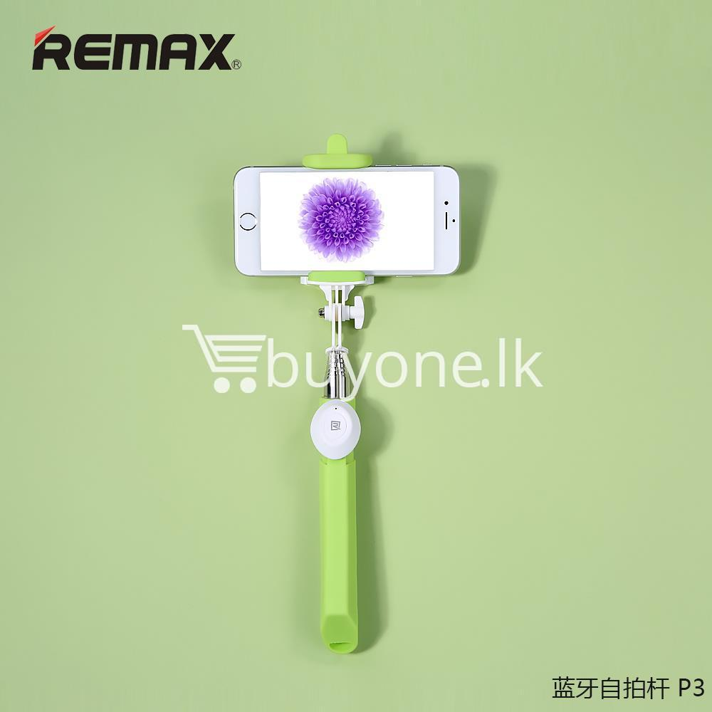 original remax p3 bluetooth selfie stick mobile phone accessories special best offer buy one lk sri lanka 56410 Original REMAX P3 Bluetooth Selfie Stick
