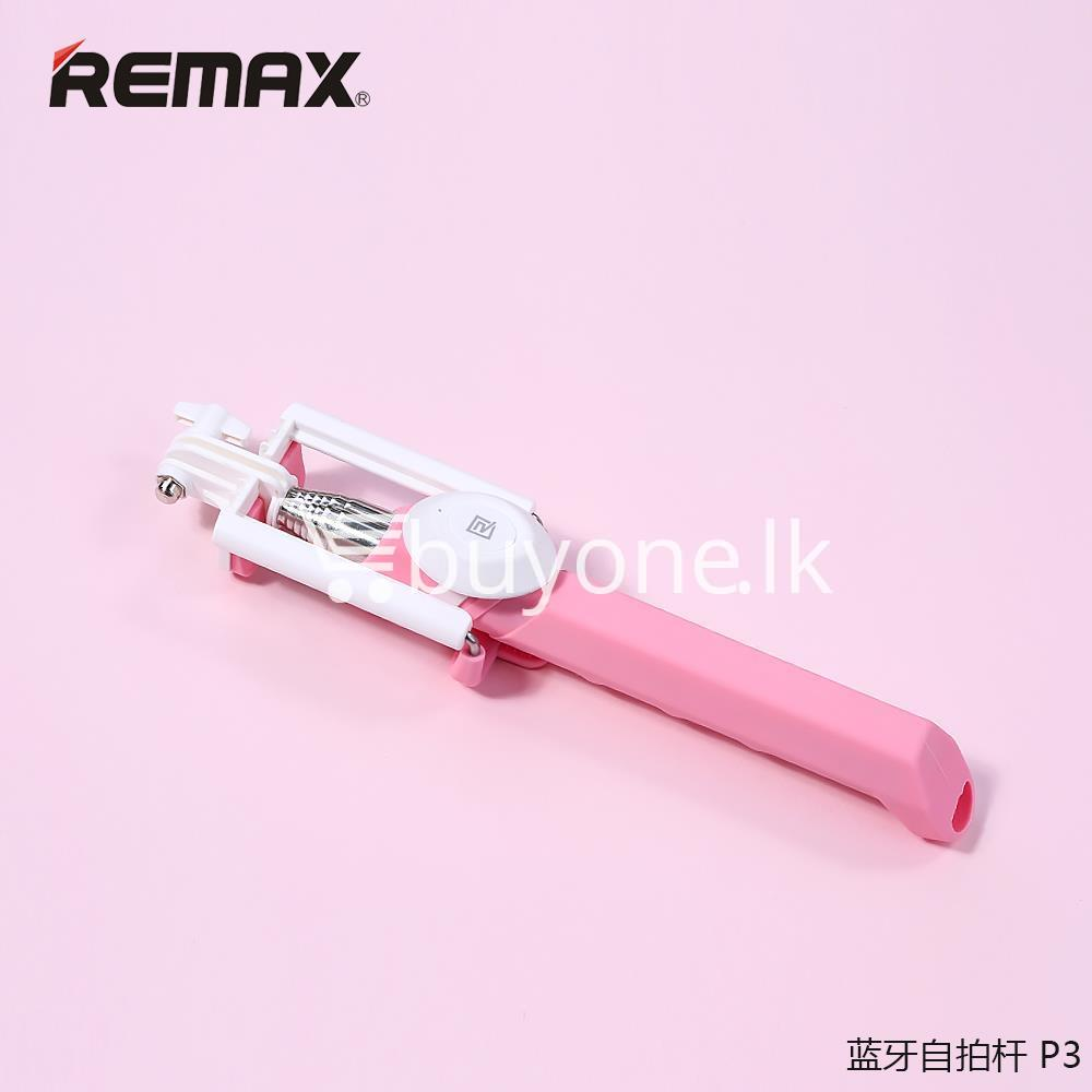 original remax p3 bluetooth selfie stick mobile phone accessories special best offer buy one lk sri lanka 56412 Original REMAX P3 Bluetooth Selfie Stick
