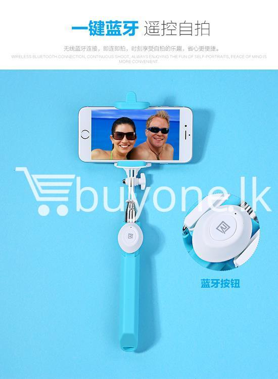 original remax p3 bluetooth selfie stick mobile phone accessories special best offer buy one lk sri lanka 56415 Original REMAX P3 Bluetooth Selfie Stick
